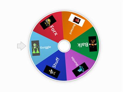 Mixels Spinning Wheel Game