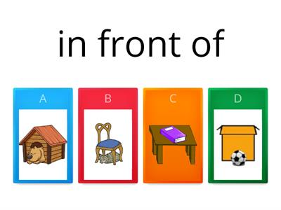 Prepositions place quiz
