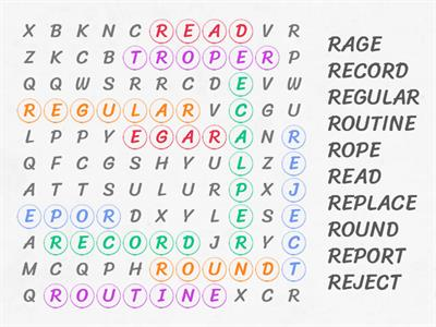 R Wordsearch