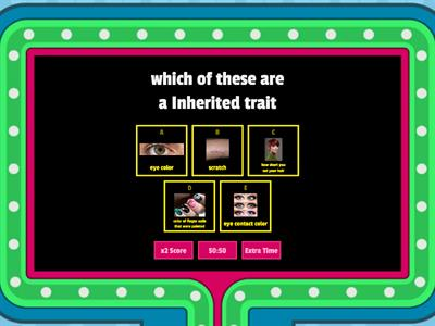 Heredity QUIZ