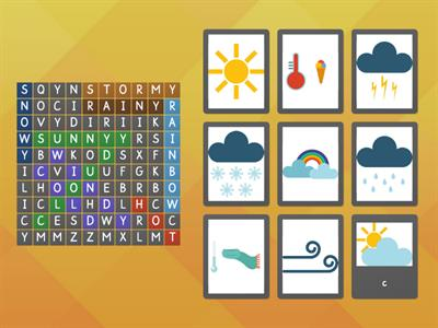weather - Wordsearch