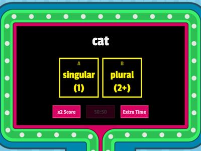 Copy of Singular Plural Nouns--COPY