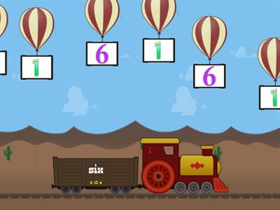 Numbers 1-12- balon
