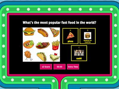 Fast Food Around the World