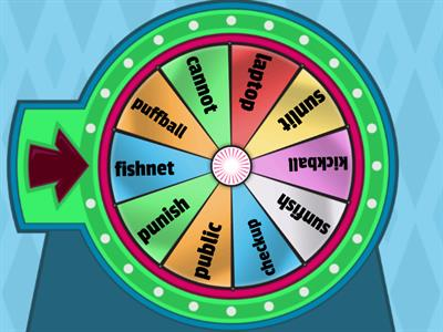 Compound word spin