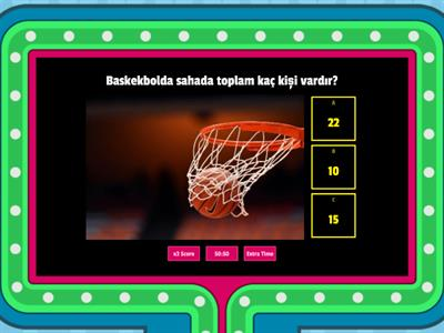 BEDEN EGİ VE SPOR (Basketbol)