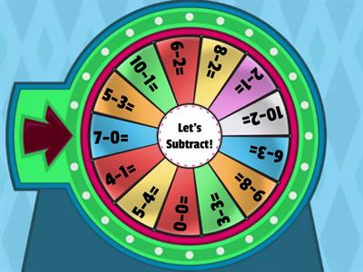 Subtraction Wheel