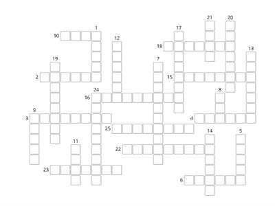 Brainy 5. Crossword 1-3