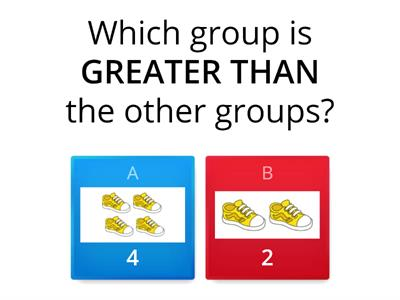 Kindergarten Greater/Less Than/Equal To