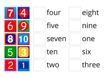 Numbers - ENGLISH YEAR 1 PPKI