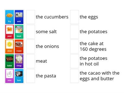 ECA2 cooking verbs
