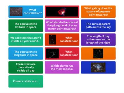 Astronomy GCSE Unit 1 Revision
