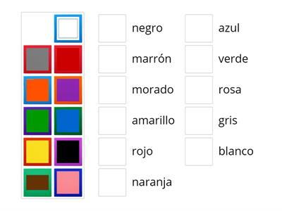 Match up - colores