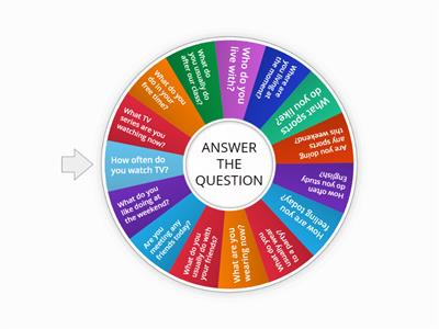 present simple and continuous_answer the questions