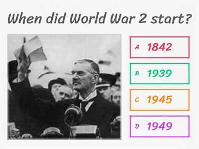 World War 2 simple quiz
