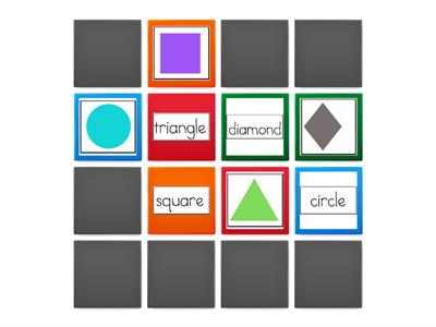 Learn Words for Shapes