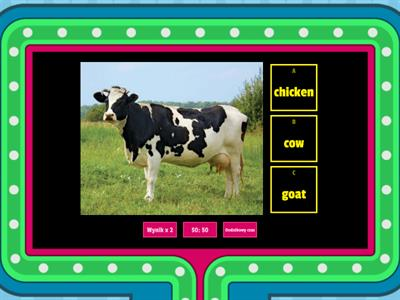 Bugs Team 2 - Farm animals
