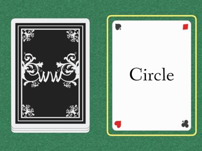 Circle or Square Cards