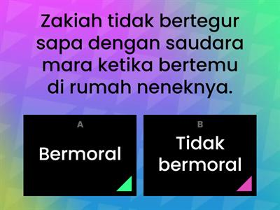 LET THINK _ OUR MORAL VALUE !!!