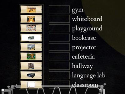 Objects in school
