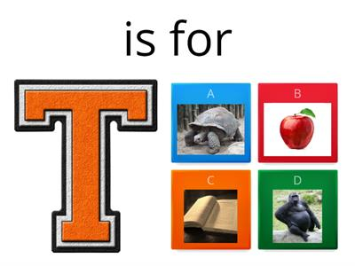 T is for ... JWJ 5