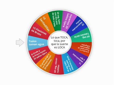 Ruleta EDF Profe Jorge
