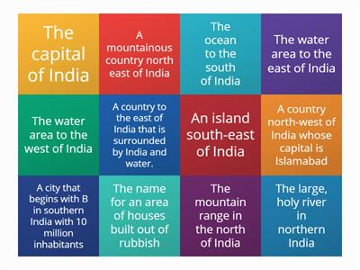 India geography quiz