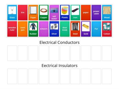 Sorting Conductors and Insulators2
