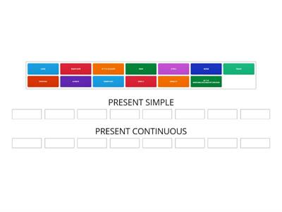 Copy of Present Simple and Continuous
