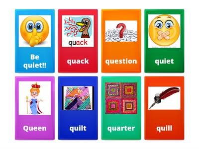 B class - words that start with Qq