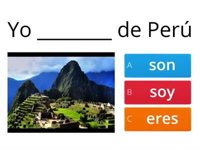 Ser and the Spanish speaking countries