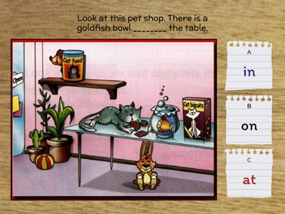 Prepositions 4 (New Round Up 2)