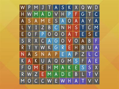 Within Word 7 Word Search