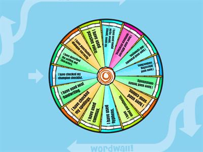 Self assessment wheel