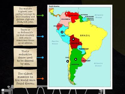 South America, interesting facts