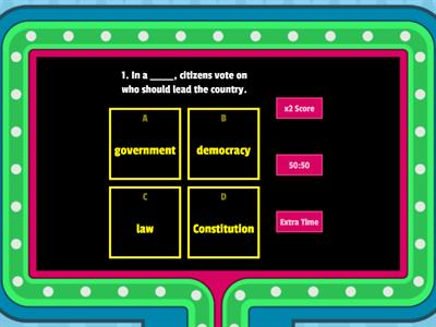 Government Gameshow