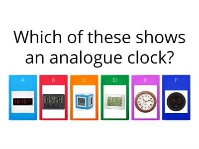 Time quiz