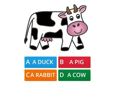What is it? FARM ANIMALS