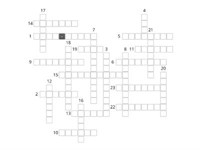 Summer - crossword