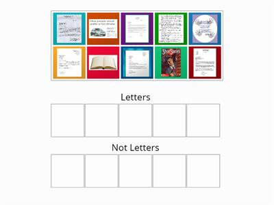 letters and non letter sort