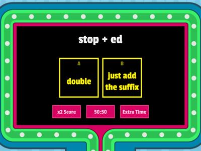 Copy of Doubling Rule Game Show