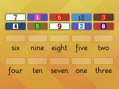 class 1 numbers 1-10