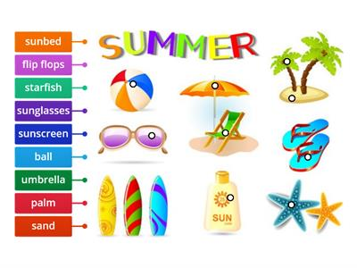 Summer for pre-school