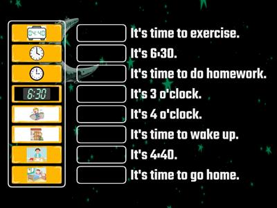 What time is it? (Level 2) (Game 1)