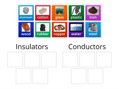 Electrical Insulators and Conductors