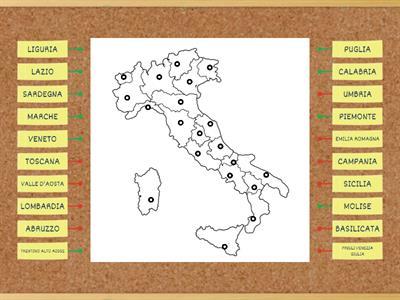 Cartina Italia Politica Vuota.Regioni Italiane Cartina Muta Risorse Per L Insegnamento