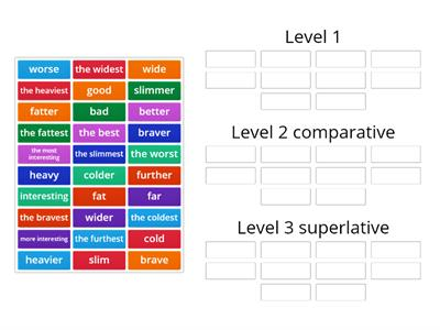 Adjective groups kl.5