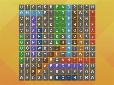 trick words wordsearch
