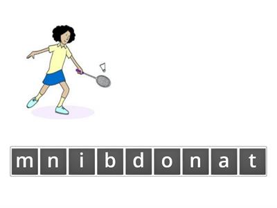 Unit 9: spelling practice - sports and hobbies