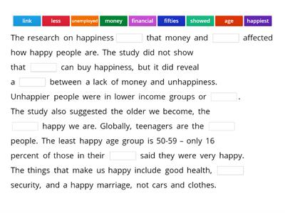 Research Summary on Happiness